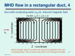mhd flow in a rectangular duct 4