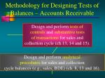 methodology for designing tests of balances accounts receivable5