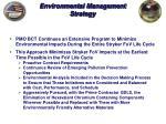environmental management strategy