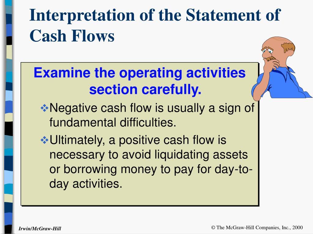 Interpretation of the Statement of Cash Flows