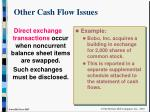 other cash flow issues22