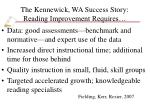 the kennewick wa success story reading improvement requires