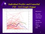 individual profiles and comorbid fm sas graph output