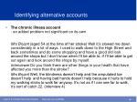 identifying alternative account s15
