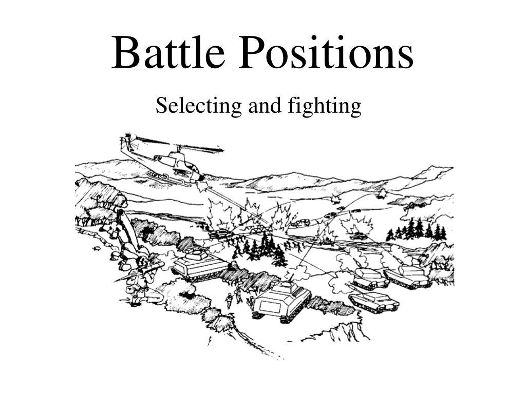 battle positions l.