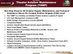 theater aviation maintenance program tamp