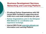 business development services networking and learning platform