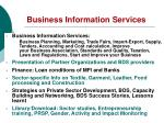 business information services