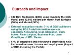 outreach and impact