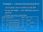 example 1 correct accounting error