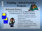funding school facilities projects19