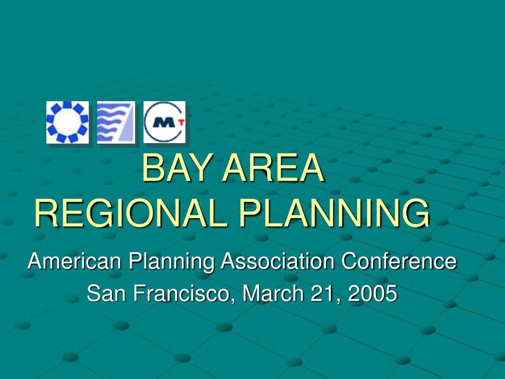 bay area regional planning l.