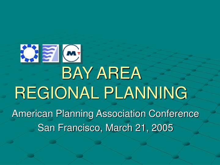 bay area regional planning n.