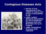 contagious diseases acts