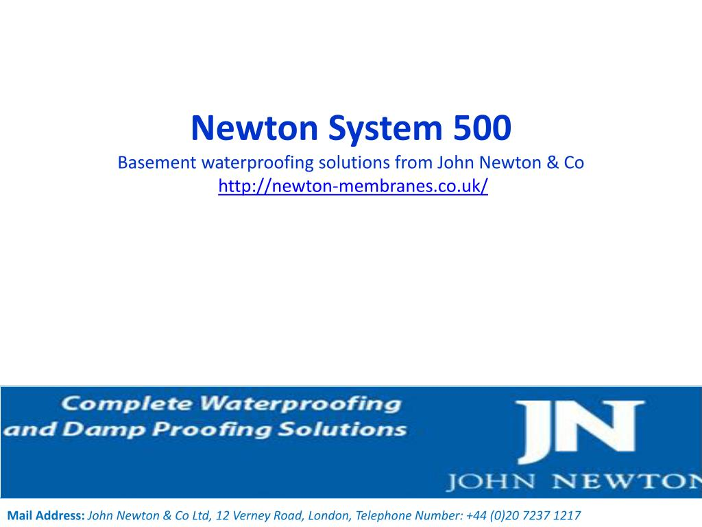 newton system 500 basement waterproofing solutions from john newton co http newton membranes co uk l.