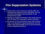 fire suppression systems37