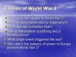 causes of world war i11
