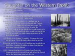 slaughter on the western front27