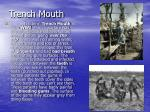 trench mouth