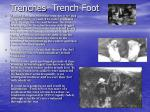trenches trench foot
