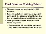 final observer training points62