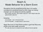 beach fx model behavior for a storm event19