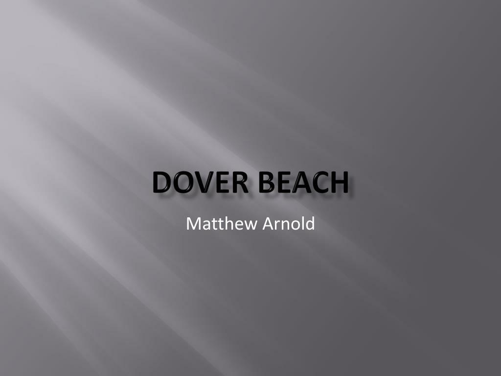 dover beach l.