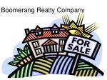 boomerang realty company