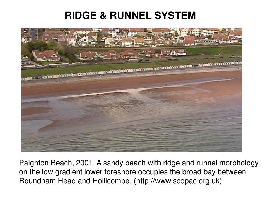 RIDGE & RUNNEL SYSTEM