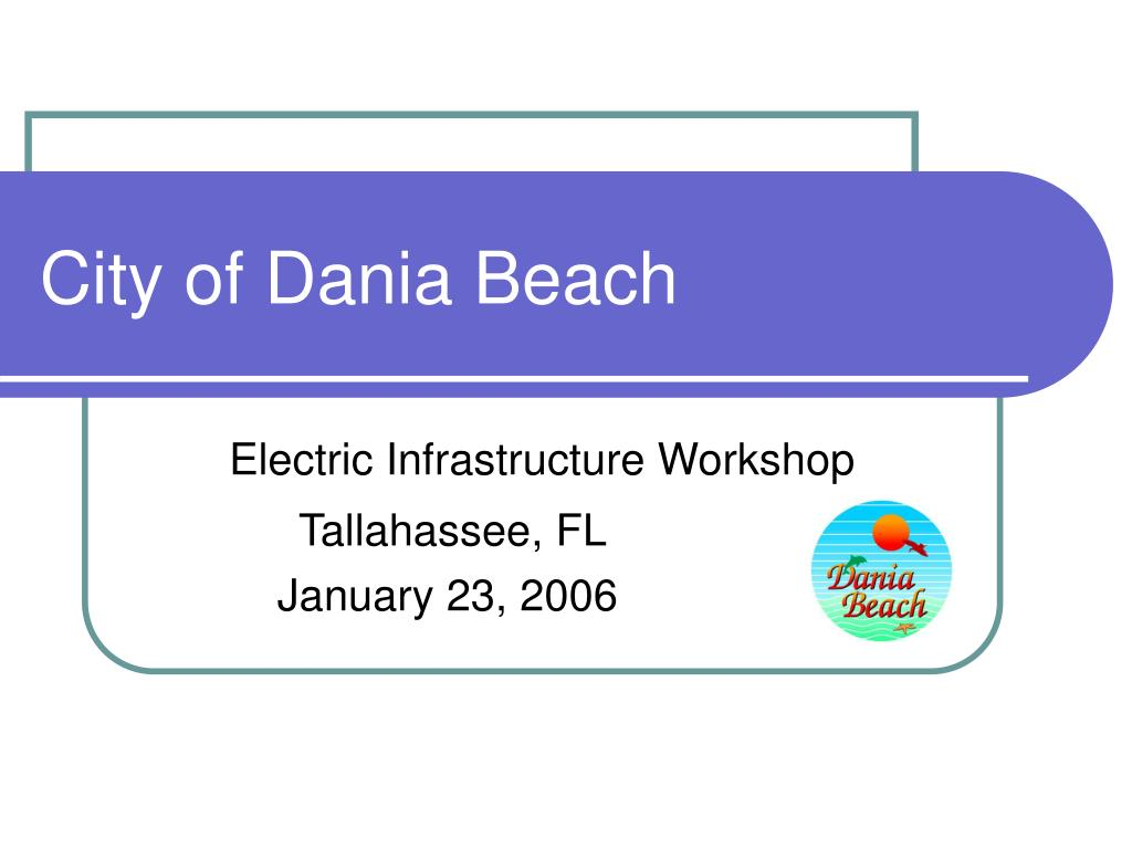 city of dania beach l.