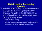 digital imaging processing systems