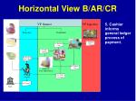 horizontal view b ar cr8