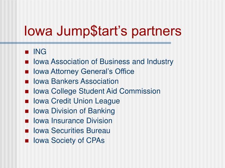 Iowa jump tart s partners3
