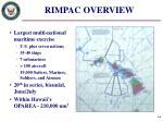 rimpac overview