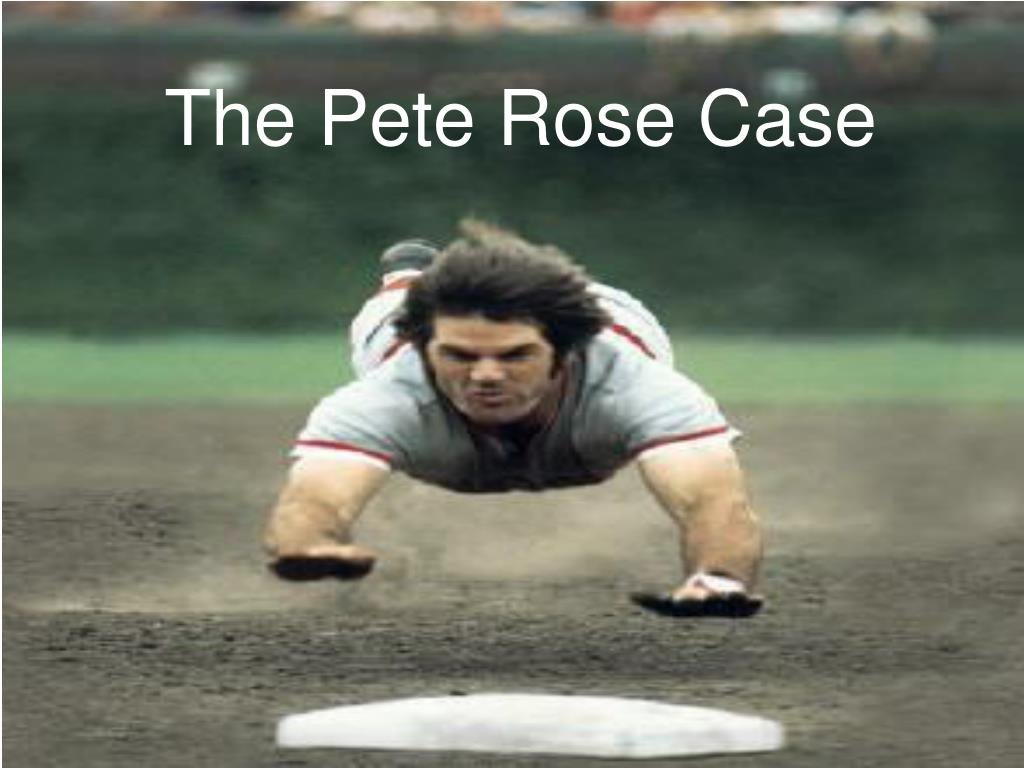 the pete rose case l.