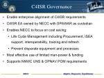 c4isr governance