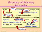 measuring and reporting receivables23