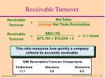 receivable turnover52