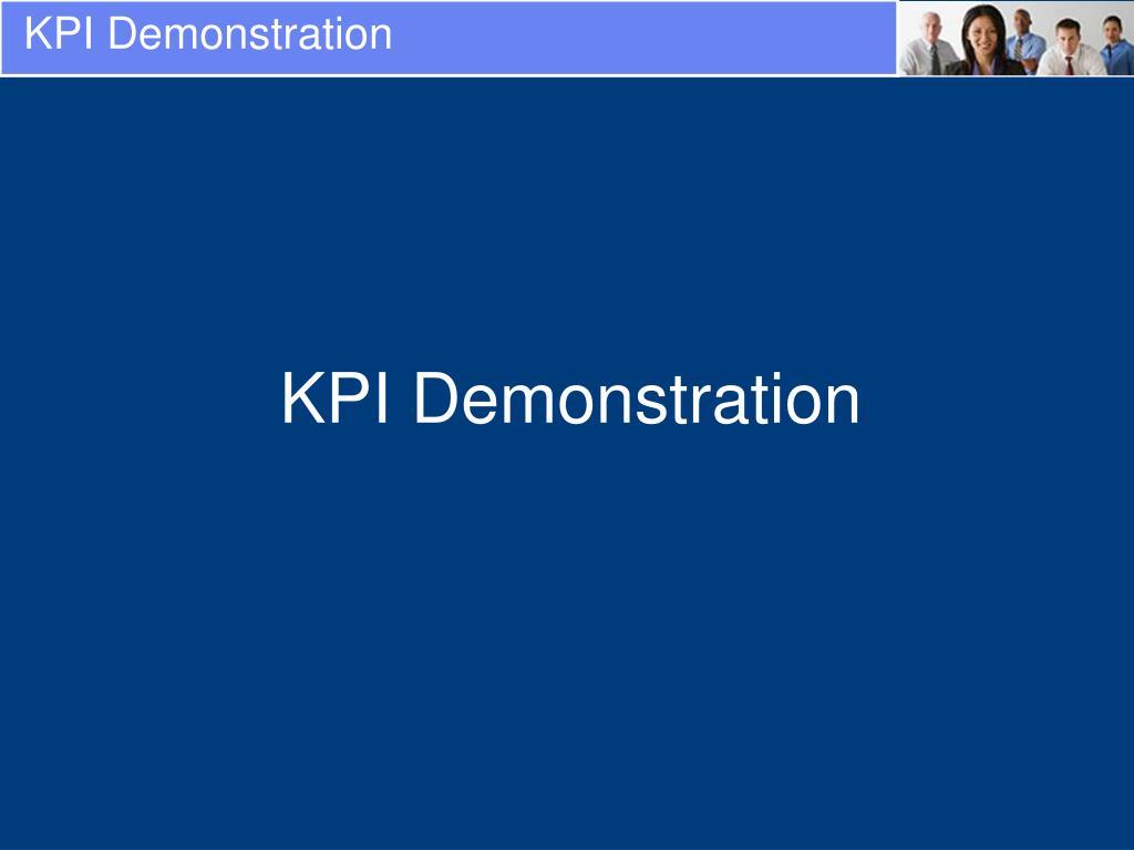 KPI Demonstration