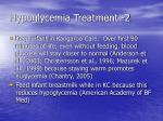 hypoglycemia treatment 2