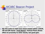 wcarc beacon project16