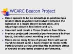 wcarc beacon project17