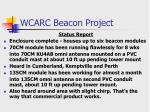 wcarc beacon project2