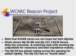wcarc beacon project20