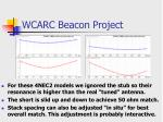 wcarc beacon project21