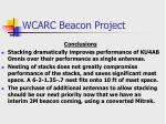 wcarc beacon project22