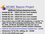 wcarc beacon project23