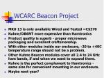 wcarc beacon project26