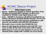 wcarc beacon project3