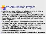 wcarc beacon project5